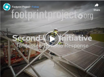 thumbnail for Solar-powered tornado relief with Footprint Project