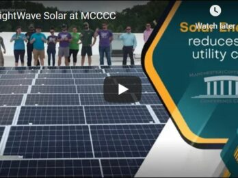thumbnail for Solar energy at MCCCC